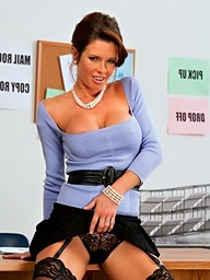 Slutty boss, Veronica Avluv  takes care..