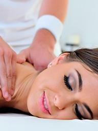 That's A Slick Massage.. featuring Riley Reid | Twistys.com