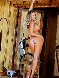 Just A Leave flat Cowgirl.. featuring Samantha Saint | Twistys.com