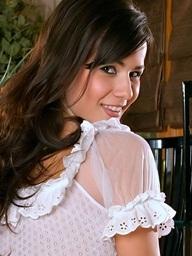 Foxes.com: Diana LaDonna - Sickly See Thru Underware Tie up Precise Tits