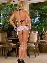 Foxes.com: Yelena Orlova - Tiny Skirt Bigtits Tight Bikini