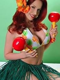 BiancaBeauchamp Hawaiiangirlpinupset